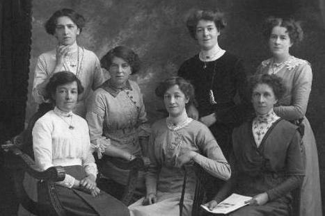 Bertha and sisters