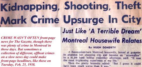 Crime headline