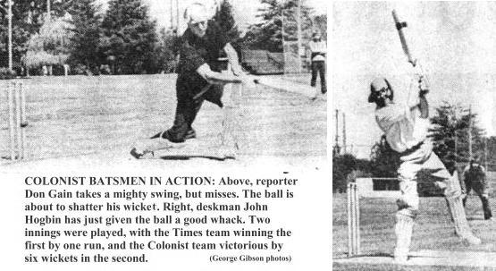 Colonist batsmen