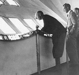 George on airship