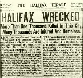 Halifax headline