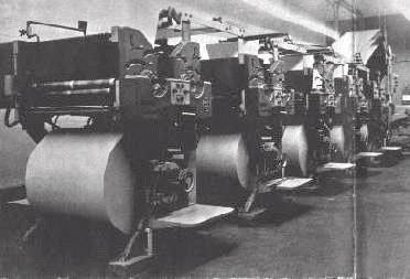 New offset press