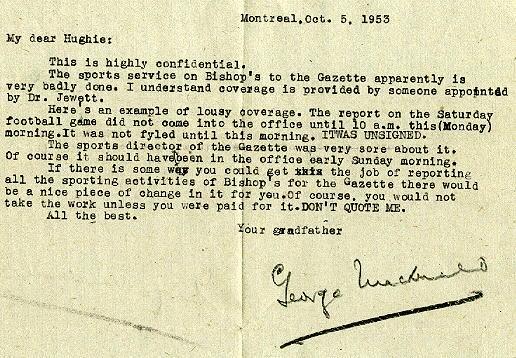 Oct. 5, 1953 letter