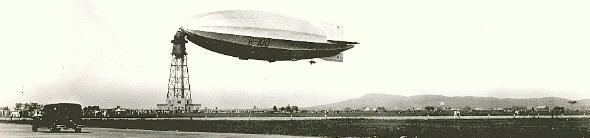 R-100 airship