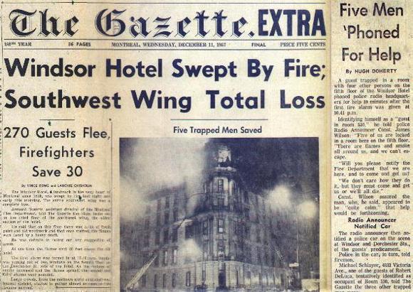 Windsor fire
